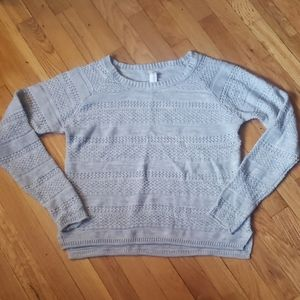 Aeropostale Light Gray Sweater XL